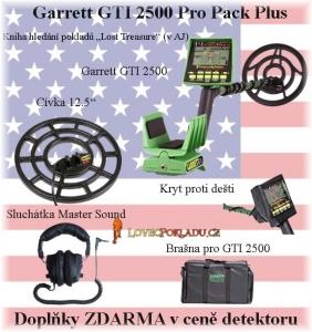 Detektor kovů Garrett GTI 2500 Pro Pack Plus