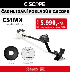 Detektor kovů CScope CS1MX