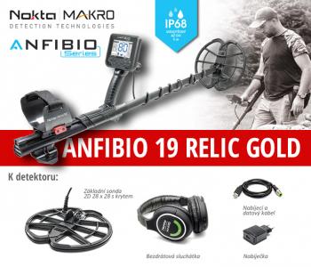 Detektor kovů Nokta Anfibio 19 Relic-Gold