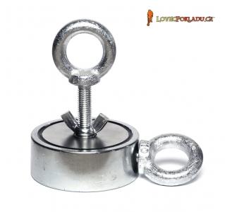 Magnet s okem M310 Double - magnetická síla 2x 310kg