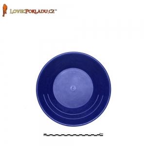 Rýžovací pánev modrá, plastová 25cm
