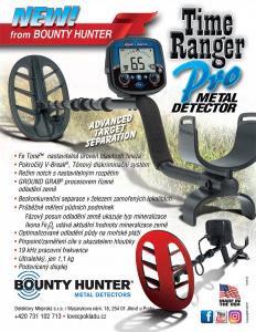 Detektor kovů Bounty Hunter Time Ranger Pro