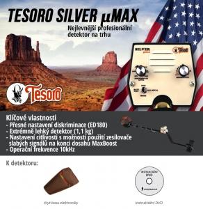 Detektor kovů Tesoro Silver uMAX