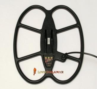 Sonda S.E.F pro detektor kovu Fisher F5, GoldBug F19, 11, 22, 44, 30x25cm