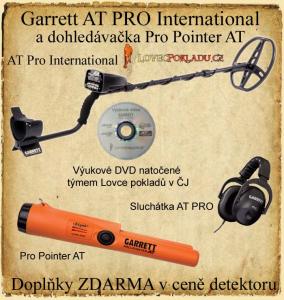 Detektor kovů Garrett AT PRO International + Pro-Pointer AT