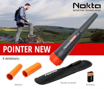 Dohledávací detektor kovů Nokta Pointer NEW