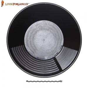 Rýžovací pánev Estwing černá, plastová 40cm