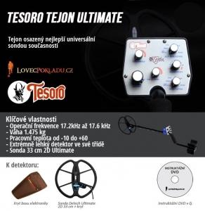 Detektor kovů Tesoro Tejon  ULTIMATE