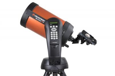 Celestron NexYZ adapter for attaching a mobile phone to a telescope