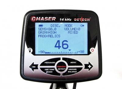 Detektor kovů Detech Chaser