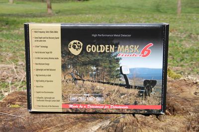 Detektor kovů Golden Mask GM6 WS