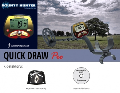Detektor kovů Bounty Hunter Quick Draw Pro