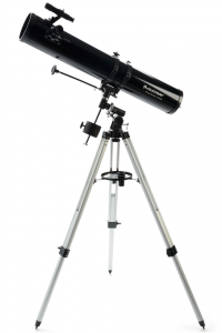 Celestron PowerSeeker 114/900mm EQ motorizovaný zrcadlový teleskop
