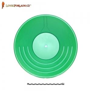 Rýžovací pánev zelená, plastová 35cm