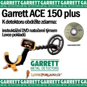 Detektor kovů Garrett Ace 150 plus