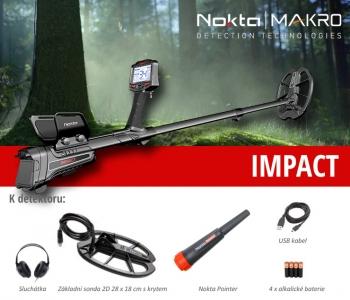 Detektor kovů Nokta Impact