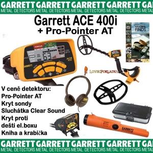 Detektor kovů Garrett Ace 400i + Pro-Pointer AT