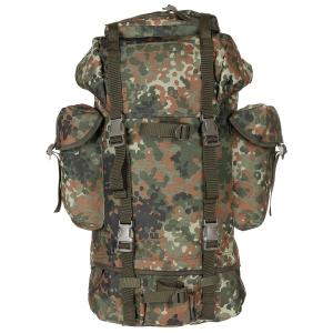 BW bojový batoh flecktarn