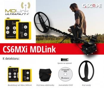 Detektor kovů C.Scope CS6MXi - MD Link