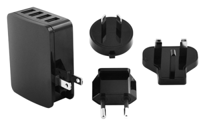 Minelab univerzální nabíječka 4x USB