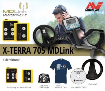 Detektor kovů Minelab X-Terra 705 - MD Link