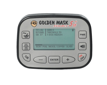 Detektor kovů Golden Mask GM5+ SE Platinum
