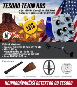 Detektor kovů Tesoro Tejón