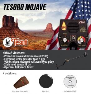 Detektor kovů Tesoro Mojave