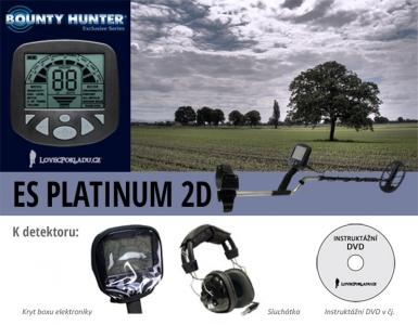 Detektor kovů Bounty Hunter ES Platinum 2D