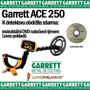 Detektor kovů Garrett Ace 250