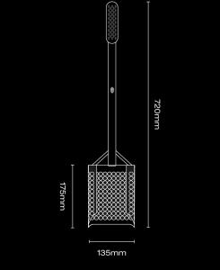 Black Ada SandScoop Extended prosívací lopatka