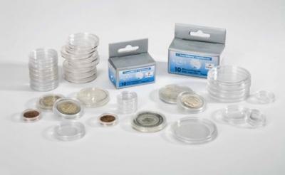 Plastové kapsle vnitřní průměr 34 mm 10ks