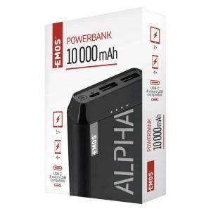 Power bank EMOS ALPHA 10000 mAh - záložní zdroj