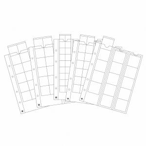 Optima listy SORT 5x MIX - 20, 27, 42 a 2x 34mm