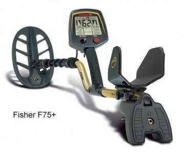 Detektor kovů Fisher Fisher F75 V2 Plus Pulse