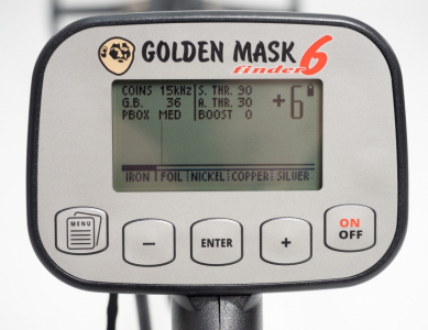 Detektor kovů Golden Mask GM6 LITE