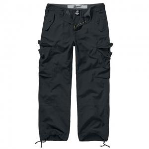 Pánské kalhoty Brandit Hudson Ripstop - Černá