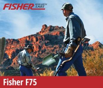 Detektor kovů Fisher F75 V2.0