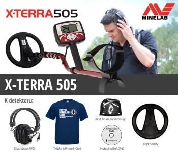 Detektor kovů Minelab X-TERRA 505