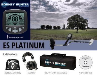 Detektor kovů Bounty Hunter ES Platinum