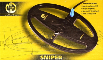 Sonda MARS MD Sniper pro Bounty Hunter ES