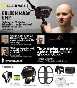 Detektor kovů Golden Mask GM2W