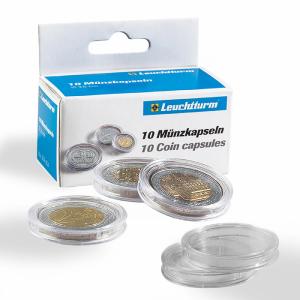 Plastové kapsle vnitřní průměr 21 mm 10ks