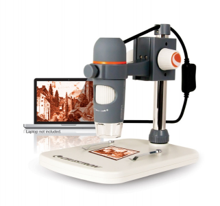 Celestron digital microscope 5 Mpx magnification 20 to 200x