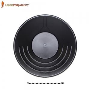 Rýžovací pánev černá, plastová 35cm