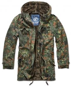 Army pánská bunda Brandit BW Parka - Flecktarn