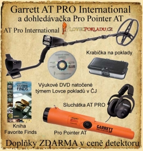 Detektor kovů Garrett AT PRO International + Pro-Pointer AT