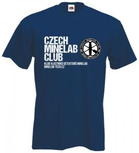 Tričko Czech Minelab Club, velikost M