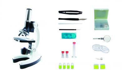 Mikroskop Celestron v plastovém kufříku - 28 dílný set