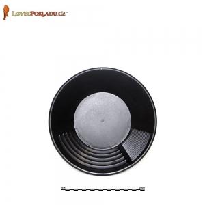 Rýžovací pánev Estwing černá, plastová 25cm